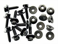 Honda Body Bolts & Flange Nuts- M6-1.0mm Thread- 10mm Hex- Qty.10 ea.- #123