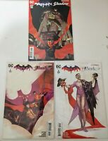 DC COMICS Batman The Shadow #1-3 ; Scott Snyder Bagged and Boarded