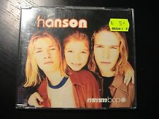 Hanson MMMBOP German Import 4-trk CD Maxi Single in slim jewelcase