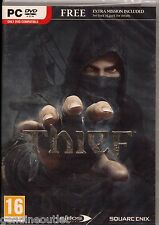 THIEF PC with The Bank Heist for (PC DVD) Vista/7/8 SEALED NEW