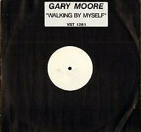 "Gary Moore Walking By Myself RARE White Label Promo 12"" Single"
