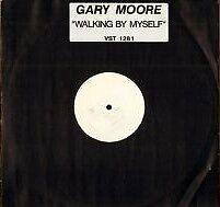 "Gary Moore Walking By Myself RARE White Label Promo 12"" Single"