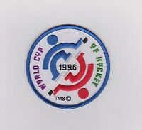 "1996 WORLD CUP OF HOCKEY PATCH TEAM USA  CANADA 3"" IN DIAMETER"