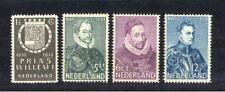 Nederland 252 - 255  postfris ( 100% originele gom)
