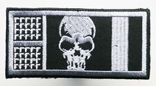 "ROGUE TROOPER ""HELM"" BIOCHIP' #1 - Embroidered Iron-On Patch - 2000AD - NEW"