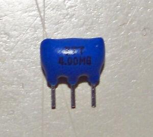 Résonateur céramique ceramic resonator  4Mhz  ZTT 4.00MG