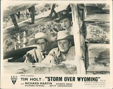 Storm Over Wyoming Tim Holt Noreen Nash Original Lobby Carte