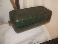 Vintage GREEN  Abrasives Multi-Oilstone Sharpening Tool Oil Wet Stone