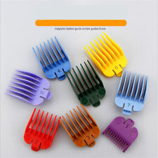 Universal Hair Clipper Limit Combs Guide Attachment Size Replacement 8 Pcs