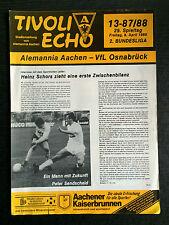 II. BL 87/88 Alemannia Aachen - VfL Osnabrück, 08.04.1988