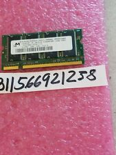 MICRON 512MB PC2700S DDR-333MHZ 64X8 8CHIPS 200PIN  SODIMM  MT8VDDT6464HY-335F3