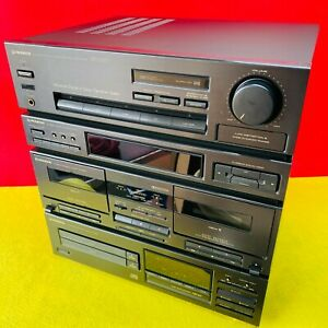 1992 Pioneer XD-Z55T Midi Hi-Fi Twin CD Cassette Deck - Tested, working.