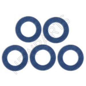 For Toyota Lexus Set of 5 Oil Drain Plug Washer Gasket Genuine 90430-12031