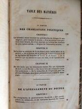 DESCHAVANNE-BINOT/HISTOIRE DES POLICHINELLES bilboquets-gouvernants 1830 - 1848