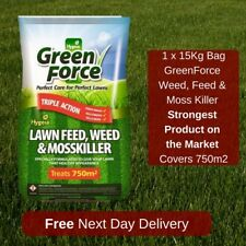 750 M2 GREENFORCE LAWN FEED WEED AND MOSS KILLER BEST VALUE ON EBAY WESTLAND