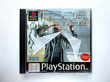 Clock Tower-PlayStation 1 ps1 PSX PAL-Survival horror-completo, muy bien