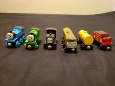 Thomas & Friends Wooden Railway Engines: Thomas, Percy, Mavis, Diesel 10