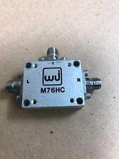 Mixer M76HC M/A-COM 2.5-10.5GHz RF microwave coaxial three balanced mixer WJ
