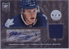 2013-14 Totally Certified Rookie Jersey Auto Morgan Rielly RC #246 Maple Leafs