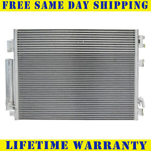A/C Condenser For  2011-2016 Chrysler 300 Dodge Charger Challenger Free Shipping