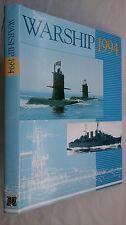 WARSHIP 1994.JOHN ROBERTS.1ST H/B D/J 1994.ILL,DIAGRAMS PHOTOS,NR/MINT COPY