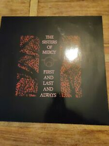 Vinyle 33Tours  The Sisters Of Mercy First And Last And Always