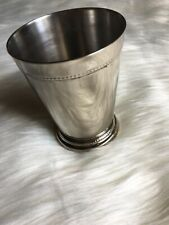 Julep Cup Stainless With Initials ATS Used