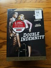 Double Indemnity - Dvd - Hardcover - New & Sealed!