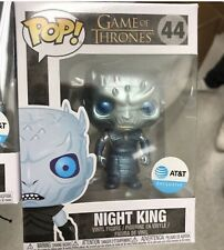 Funko Pop Game Of Thrones Metallic Night King AT&T Excl.  Preorder W/ PROTECTOR