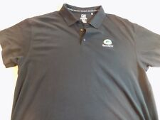 Green Bay Packers Security Polo Shirt Cutter & Buck DryTec XXL NWOT Free Ship