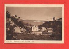 SAINT CLAUDE - Le pont suspendu   (J7078)