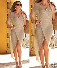 Women Sexy Bathing Suit Crochet Hollow Swimwear Bikini Robe Cover Up Beach Dress