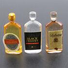 1:12 6pcs Dollhouse Miniature Wine Whisky Bottles Shop Pub Bar Drinks Accessory