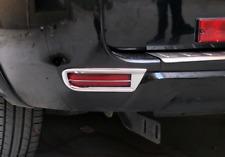 Chrome Rear Fog LAMP Light cover trims For Toyota RAV4 2009 2010 2011 2012