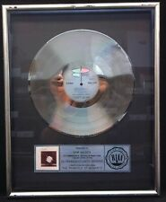 Robert Plant Principle Of Moments '83 Riaa Platinum Lp Award Plaque Led Zeppelin
