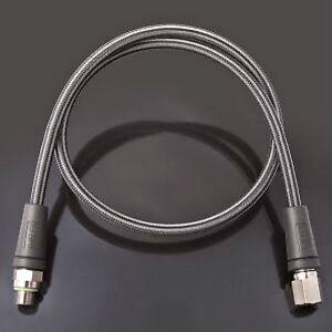 Miflex High Pressure Gauge Hose Black Carbon. Size Choice
