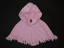 ESPRIT Traumhafter rosa PONCHO aus Fleece Gr.M 92-98-104