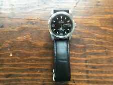 36mm  Rolex Black Dial Oyster Perpetual Explorer Leather belt. Date