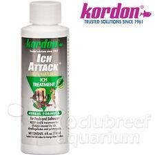 Ich Attack Aquarium Fish Disease Ick Natural Herbal Medication 4oz Kordon