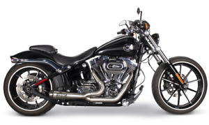 Two Brothers Comp-S 2-1 Exhaust System Stainless Steel Harley Softail 00-17