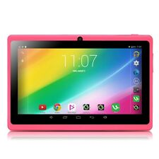 "iRULU Pink 7"" 8GB Tablet PC Quad Core Google Android 6.0 Dual Camera WIFI 1.5GHz"