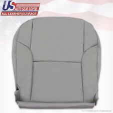 2007 2008 Toyota 4Runner Driver Side Bottom Replacement Leather Seat Cover GRAY