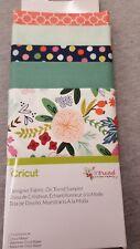 New Arrival Cricut Designer Fabric, On Trend Sampler