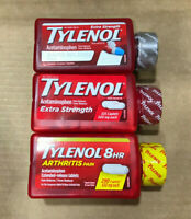 TYLENOL Extra Strength Pain & Fever Reducer Acetaminophen 500mg CHOOSE SIZE/TYPE