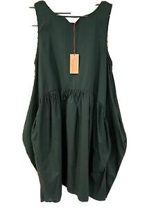 New! Lovely GORMAN Green Tulip Dress -  size 14