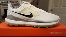 *RARE NIKE Tiger Woods TW '14 Ltd Ed Mens Golf Shoes 652628 NEW Wh/Volt/Blk 9W