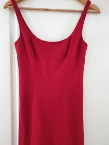 Dolce & Gabbana D&G Red Midi Dress Size IT40