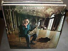 DEXTER GORDON great encounters ( jazz ) - WHITE LABEL PROMO -