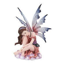 Winter Fairy Dreaming Figurine Statue Fairyland Faery Collection Mystical