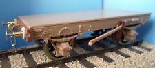 Slaters 7038A Charles Roberts 9' Wagon Underframe Kit +Wheels & Bearings 0 Gauge